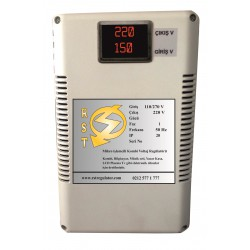 Mikro İşlemcili Elektronik Koruma Üniteli Voltaj Regülatörü